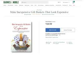 Barnes And Noble Starting Pay Make Inexpensive Gift Baskets That Look Expensive