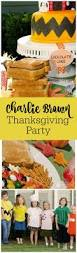 charlie brown thanksgiving party by the party teacher https