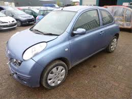 nissan datsun micra k12 1 2 16v salvage year of construction