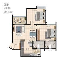2bhk floor plans 2 2 5 3 bhk apartment floor plan durga petals