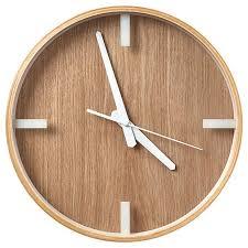 Decorative Wall Clocks Australia Scandi Timber Clock Target Australia
