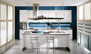 cuisine mur bleu แบบห องคร วสไตล โมเด ร นสวยๆ bestroomstyle com