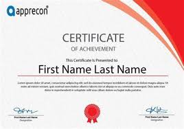certificate award template powerpoint resume pdf download