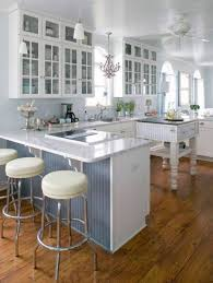 kitchen marvelous white and sleek open floor plan kitchen design