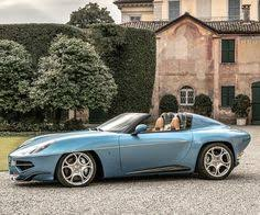 2014 alfa touring superleggera disco volante italian cars