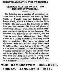 bury at war christmas 1914 bury u0027s great war