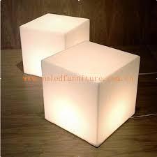 light up cubes led cube light solar light led cube seat lighting led light cube