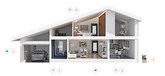 Smart Home Floor Plans by Smart Sensor Instant Alerts Oval