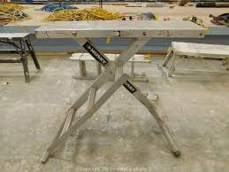 husky adjustable work table west auctions auction auction 1 complete warehouse liquidation