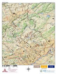Map Of Bucks County Pa Pennsylvania Wind Maps St Francis University