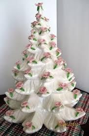 ceramic tree eames era regency white and gold