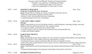 Electronic Assembler Resume Sample by Chronological Resume Examples Functional Resumes Examples