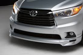 toyota highlander 2015 toyota showcases trd possibilities at 2015 sema show