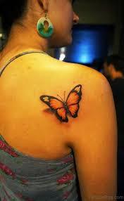 55 delightful butterfly tattoos on shoulder