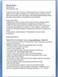 medical secretary sample resume format in word free download