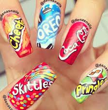 whoa cool nails i love those nails hair nails pinterest