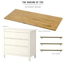 Diy Ikea Desk An Ikea Hack Worth Repeating The Studio Desks Jones Design Company