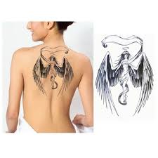 wings fashion stickers water transfer