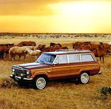 jeep heritage 1984 u20131991 jeep grand wagoneer sj the jeep blog