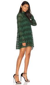 free people simone mini dress in green combo revolve