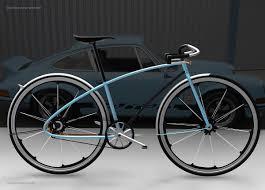 porsche bicycle car porsche bike on behance