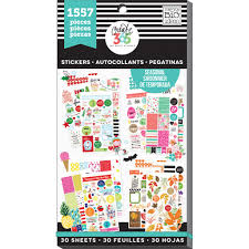 shop for the create 365 the happy planner value pack stickers shop for the create 365 the happy planner value pack stickers brilliant year at michaels