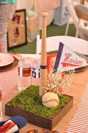 baseball centerpieces vintage style baseball baby shower baby shower ideas themes