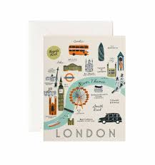 city maps assorted card set by rifle paper co made in usa