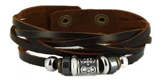 bracelet cuir homme images Bracelet cuir homme charms et acier png