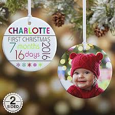 personalized baby s ornaments baby s age 2