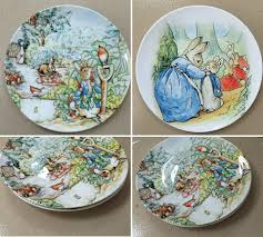 aliexpress com buy british designer beatrix potter the tale of aliexpress com buy british designer beatrix potter the tale of peter rabbit illustration painting plate edible and home decor 8 inch flat dish from