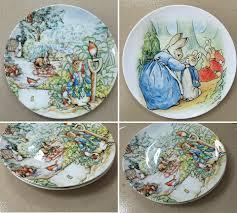 home decor plates aliexpress com buy british designer beatrix potter the tale of