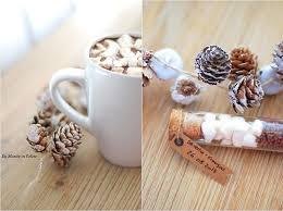 cadeau invitã mariage pas cher chocolat chaud aux chamallows pour mes invités