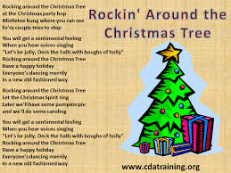 walking around christmas tree lyrics home decorating interior