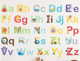 Baby Nursery Wall Decal Elephant Wall Decal Elephant  Best - Alphabet wall decals for kids rooms