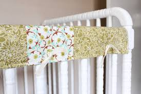 our nesting ground reversible crib rail cover tutorial