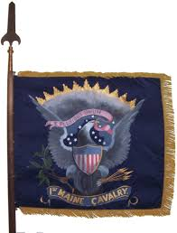 Battle Flag Of The Army Of Tennessee 1st Maine Cavalry Flag The Civil War Pinterest Flags Civil