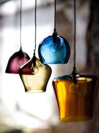 Colored Glass Pendant Lights 339 Best Light Hearted Images On Pinterest Lights Ceiling Lamps