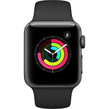 amazon com apple watch series 3 gps space gray aluminum case