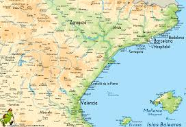 Mallorca Spain Map by Sender Mediterraneo