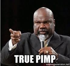 Pastor Meme - true pimp pastor says meme generator