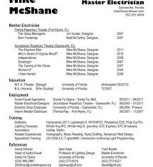 Best Electrician Resume by Electrician Resumes Nyc Industrial Electrician Resume Template