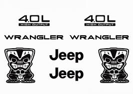 jeep decal jeep wrangler decal kits u2013 jeep wrangler
