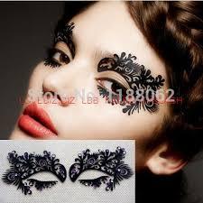 eye shadow sticker lk005 eye makeup artistic eye mask lace