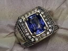 model cincin blue safir jenis batu cincin blue safir antiklopedia