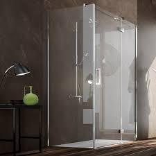 Shower Hinged Door Glass Shower Cubicle Aluminum Corner With Hinged Door Plan