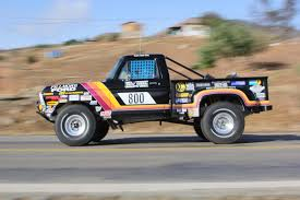 rally truck racing vintage off road rampage the trucks of the 2015 mexican 1000
