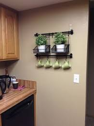 decorating ideas for kitchen walls fintorp rail black tabletop wall storage and plants