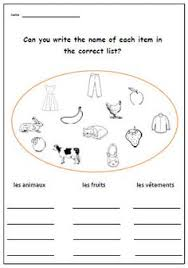 number french worksheet primary printable for by yippeelearning