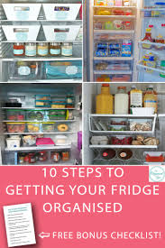 10 steps to getting your fridge organised blog home organisation